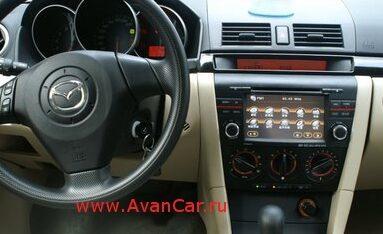 аудио магнитола в машину mazda 3