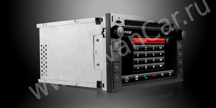 AVANCAR- штатные магнитолы для Mercedes Benz w210 Штатная магнитола